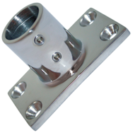 Stainless Steel Rail fittings 90deg rectangular base
