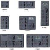 AC Vertical 8 Breaker Panel with Digital Meter