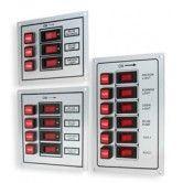 Illuminated 6 Vertical Switch Panel