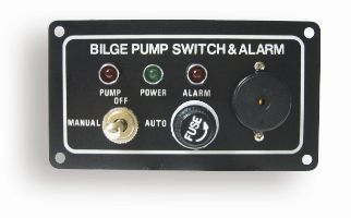 Bilge Pump Switch Panel - with alarm