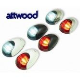 Marine Navigation Lights - Attwood Black White S Steel