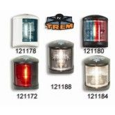 Stern Nav Lights - Black/White 12v to 12m
