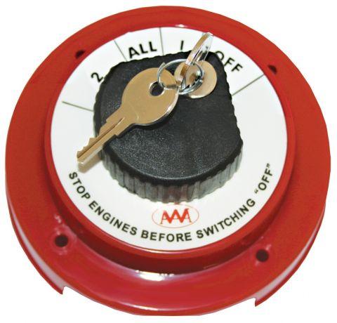 Battery Selector Switch - Key Lockable