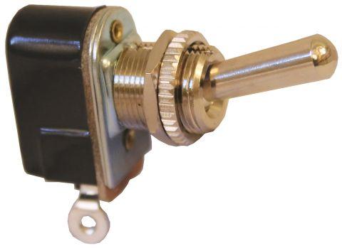 Switch - C/P Brass Toggle