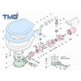 TMC marine toilet parts  Electric