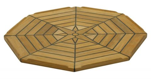 Marine TEAK Table tops Nautic Star Octaginal 8 sided 139431