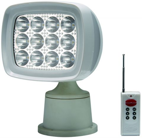 LED  Remote  Control  Searchlight - 1600  Lumen