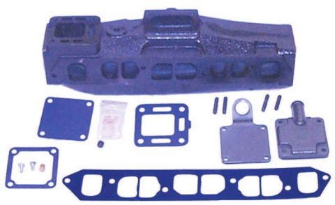 Marine manifolds suit most late Model  3.0L 181CID (for Rochester 5 bolt Pattern) 18-1955-1