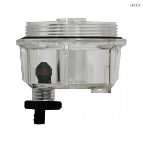 Racor fuel filter replacement generic Clear bowl 18-7922