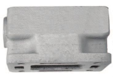 Mercruiser Volvo Manifold Spacer  18-1949 3 inch