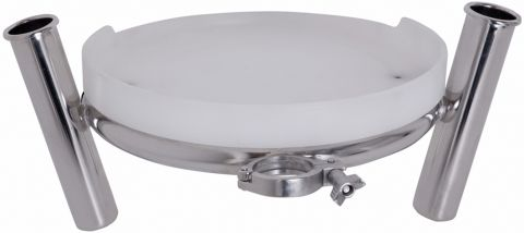 Round  Clamp-On  Bait  Station