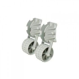 Dinghy Wheels lightweight plastic