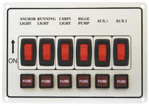Alloy Illuminating Switch Panels