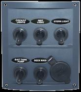 Marine Switch Panel Splashproof rwb2114