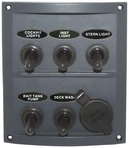 Splashproof Panel - With Cig Socket