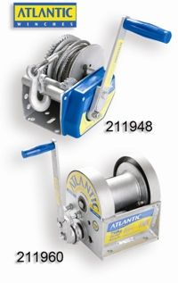 Atlantic Brake Winch 8:1 with No Cable - Large