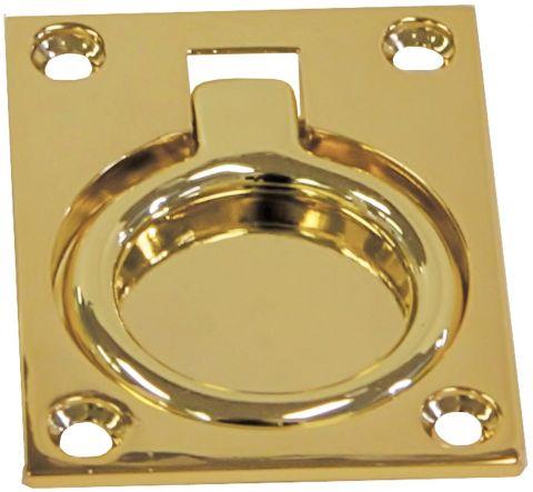Rectangular Brass - Large