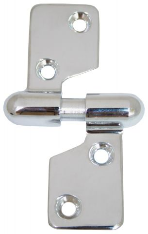 Separating Hinge - Chrome