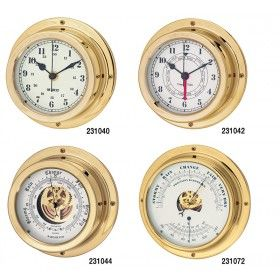 Marine Clocks, Tide Clocks and Barometers - Enclosed 150mm 180mm