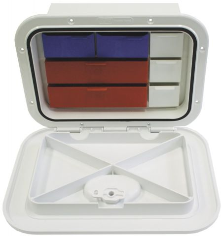 Deluxe Tackle Box Hatch