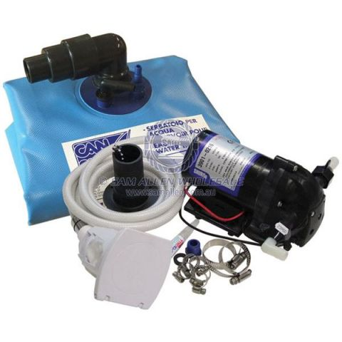 Shurflo 60ltr Flexi tank and pump kit complete 239300