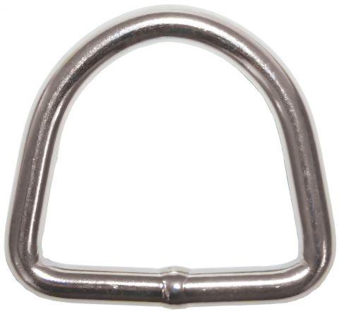 Dee Rings - Stainless Steel