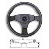 Boat steering wheel Stealth PVC Wheel