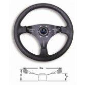 Boat steering wheel Manta Alloy Wheel Black