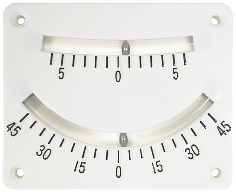 Dual  Scale  Inclinometer