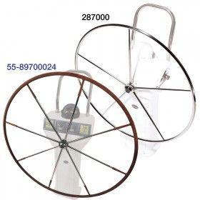 Lewmar  Steering 5 Spoke S/S Wheels Flat