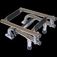 Folding Ladder Narrow 3 step rwb300
