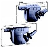 Boat Exhaust Water lock/silencer 55/60/65