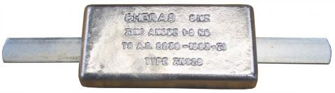 Block Anodes-With Galvanised Strap