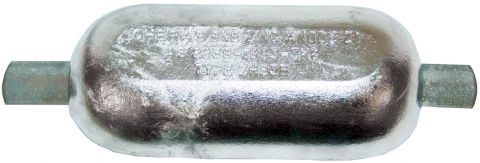 Large Oval Anodes - With Galvanised Strap