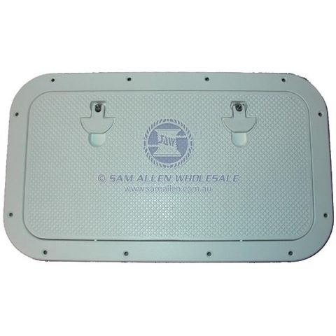 Alloy Inspection Access Hatches 36160 36155 36150 WHITE powdercoat