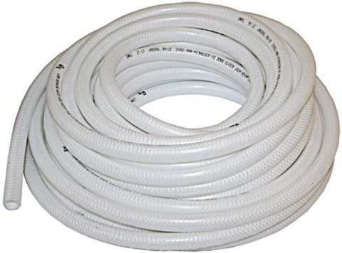 Food safe drinking water hose 12mm white