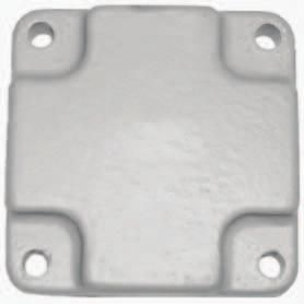 Manifold End Plate 18- 4009
