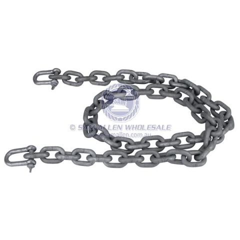 Anchor Chain Regular Link Galvanised with Shackles