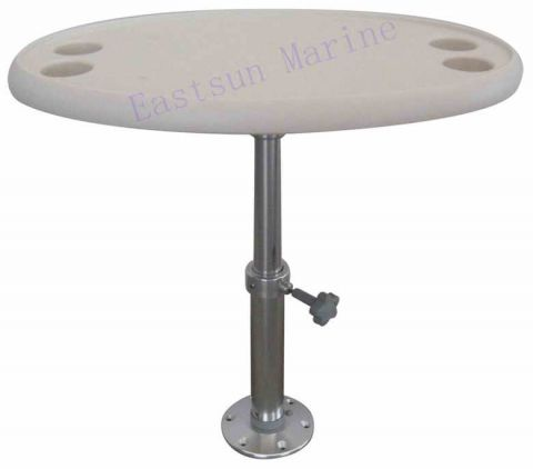 Oval adjustable 765 x 460mm Height 500-710