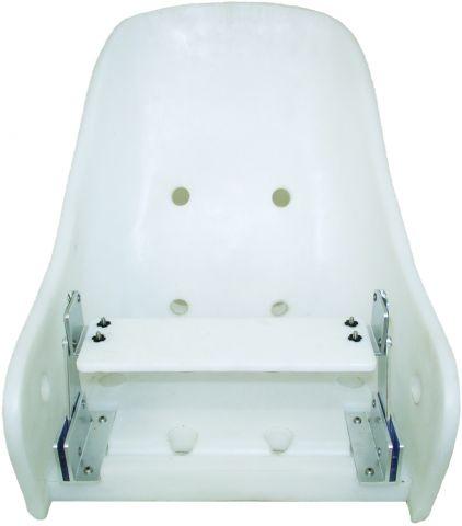 OCEANSTAR Deluxe Flip-Up Helmsman Seat