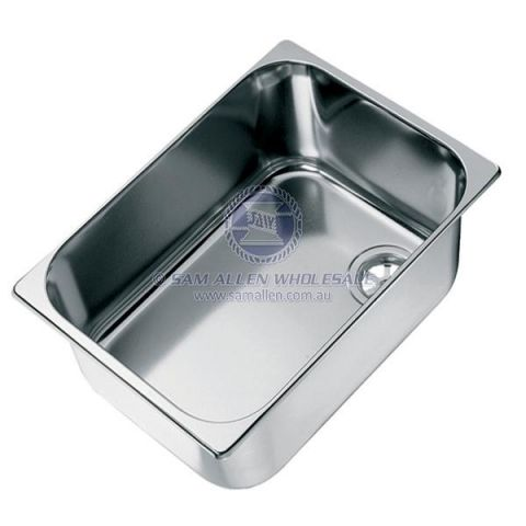 Sink rectangular without lid ordered separately 3 SIZES