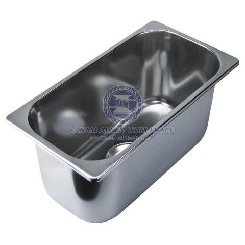 Sink rectangular deep with or w/o lid