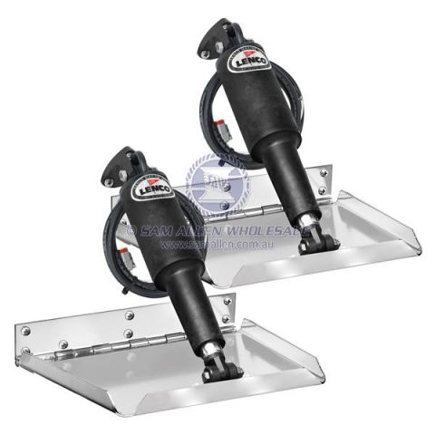 Lenco trim tabs Tapered plate 55469