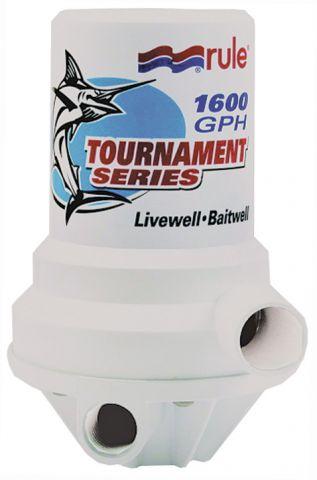 Tournament 1600 Dual Port Livewell Pump