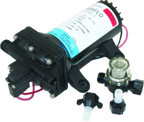 Shurflo with filter and fittings