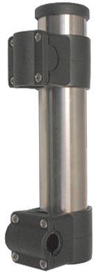 Rail  Mount  Rod  Holders  -  Stainless  Steel