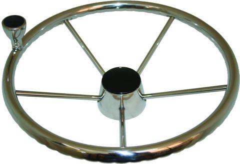 Stainless Wheels - With Control Knob-RWB668