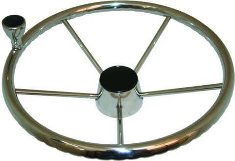 Stainless Wheels - With Control Knob