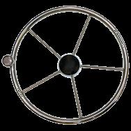 Steering wheel Five Spoke S/S with contro knob - 385mm rwb668