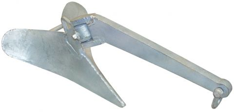 Galvanised  Plough  Anchors